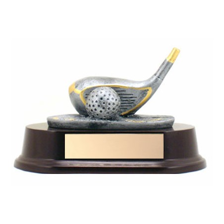 "Golf Driver Trophy 3.5"" Tall"