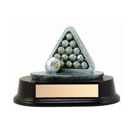 "4"" Billards Resin Sculpture"