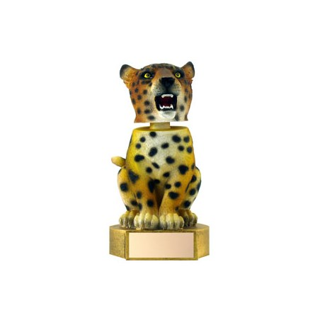 "6"" Jaguar Mascot Bobble Head"