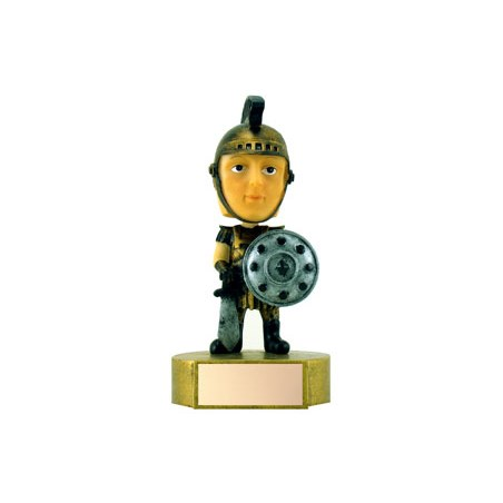 "6"" Spartan Mascot Bobble Head"