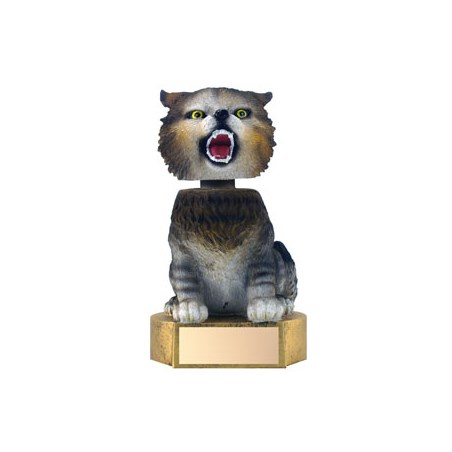 "6"" Wildcat Mascot Bobble Head"