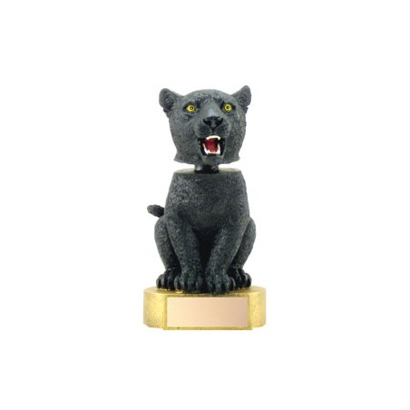 "6"" Panther Mascot Bobble Head"