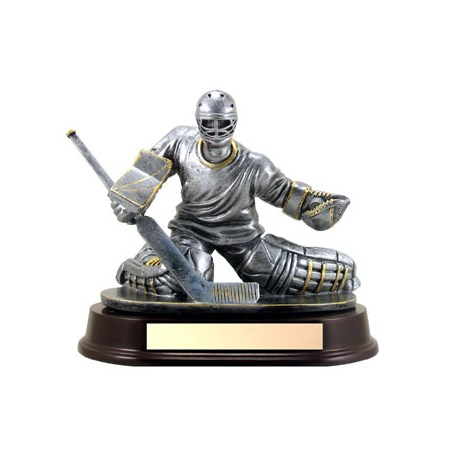 7 in Hockey Goalie Trophy - Male