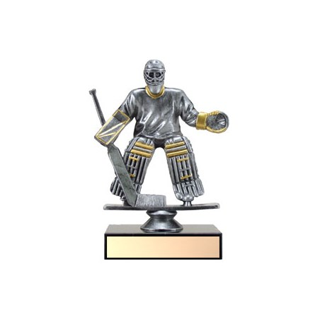 5 in Resin Goalie Hockey Trophy