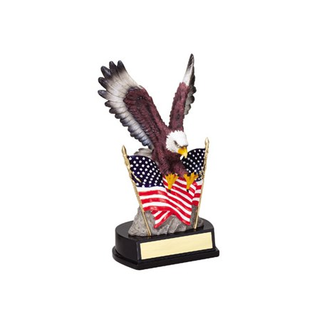"9"" Resin Eagle Sculpture"