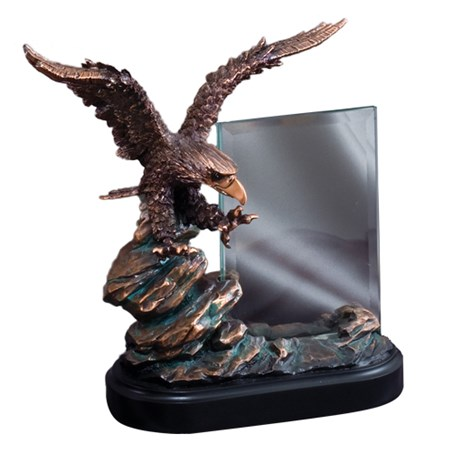 9.5 in Resin Eagle Sculpture