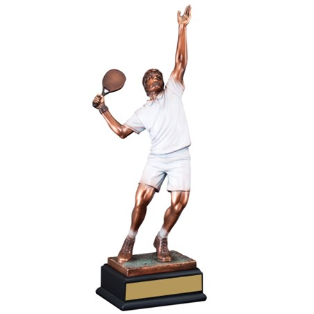 "19"" Male Tennis Sculpture Award"