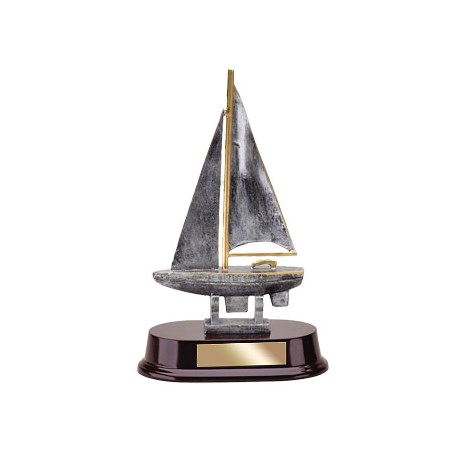 "9-1/2"" SailBoat Resin"