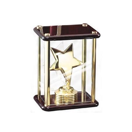 """7"""" Elegant Rosewood Star Award"""