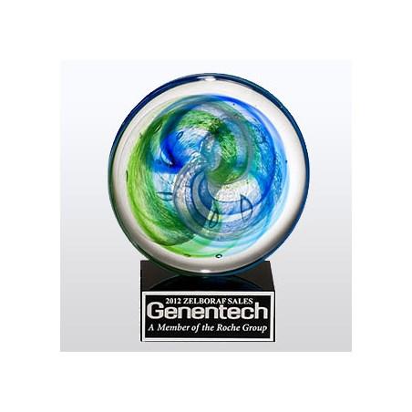 """7-1/4"""" Art Glass Award"""