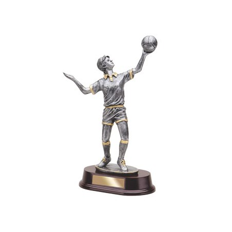 "11"" Female Volleyball Resin"