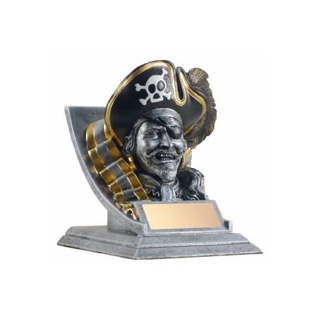 4 in Pirate Mascot
