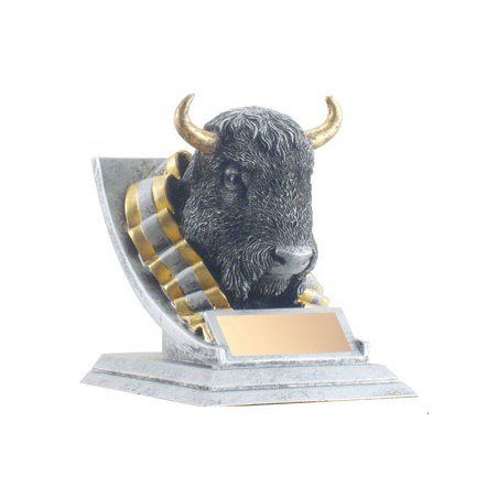 """4"""" Buffalo Mascot"""