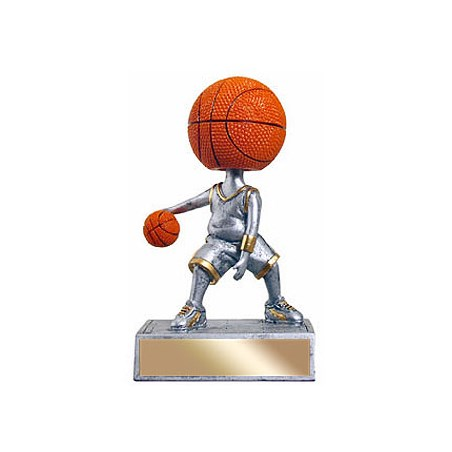 5.5 in Bobble Head Basketball Trophy