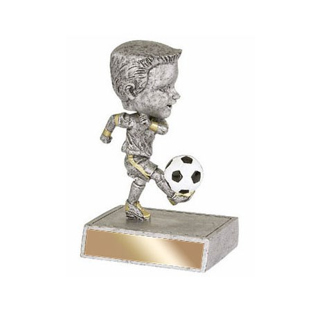 "5.5"" Soccer Bobble Head - Male"