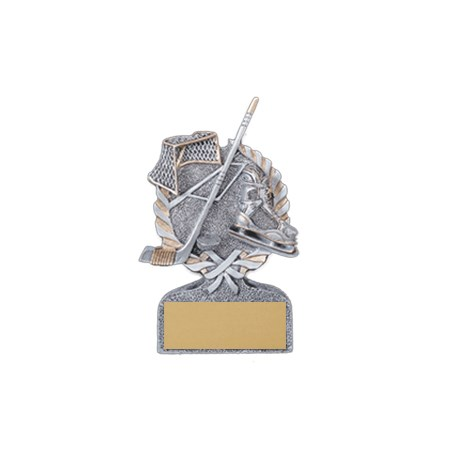 "5"" Resin Laurel Hockey Trophy"