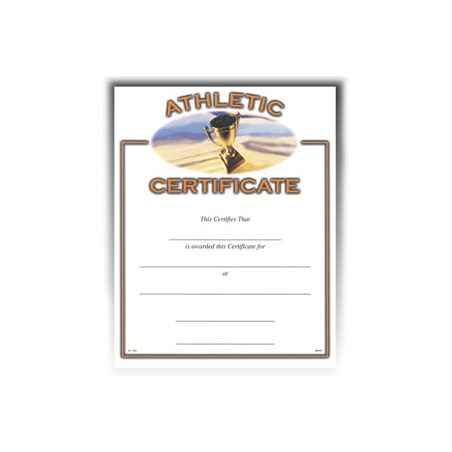"Athletic (8-1/2"" x 11"")"