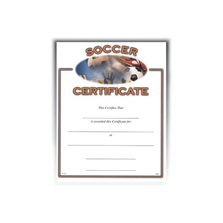 "Soccer (8-1/2"" x 11"")"