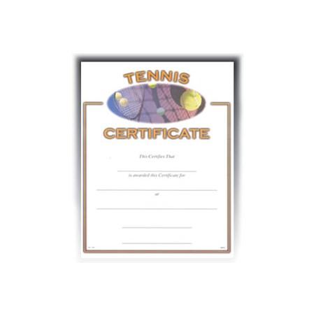 Tennis (8-1/2 in x 11 in)