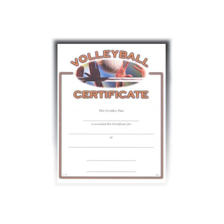 "Volleyball (8-1/2"" x 11"")"