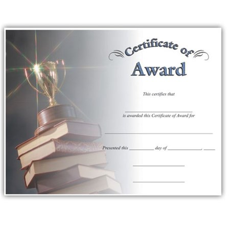 Award (8-1/2 in x 11)