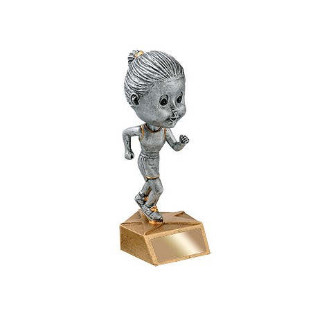 "5-3/4"" Female Track Bobble Head"