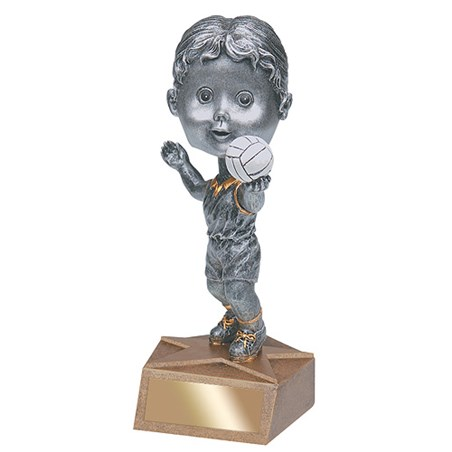 "5.75"" Volleyball Bobble Head - Female"
