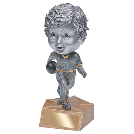 "6"" Bowling Bobble Head - Male"