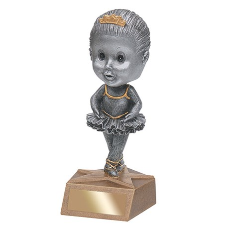 5.75 in Ballerina Bobble Head