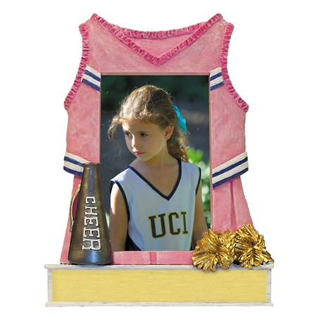 Cheerleading Picture Frame