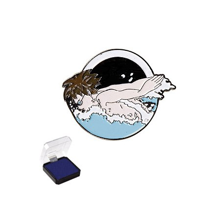 1 in Swimming Sports Pin