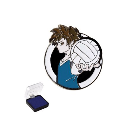 "1"" Volleyball Sports Pin"