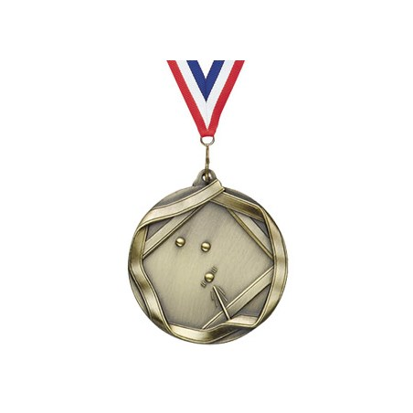 2 1/4 in Ribbon Series Billards Medal