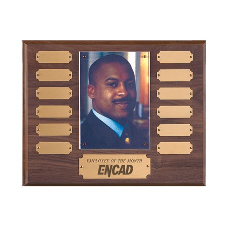 "10-1/2"" x 13"" Employee of the Month Plaque"