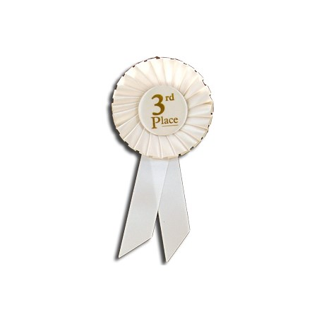 3rd Place Rosette