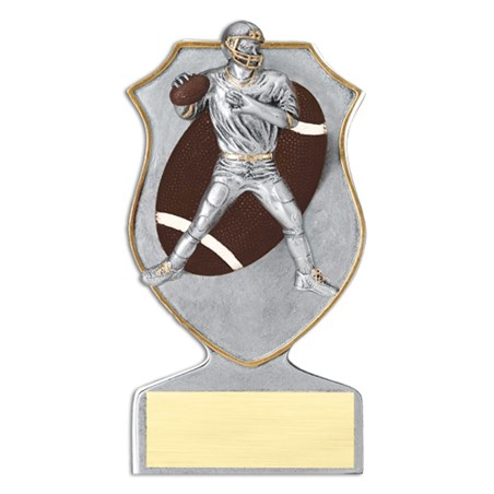 "5.5"" Resin Football Trophy"