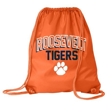 Orange Sports Bag