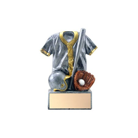 "4-1/2"" Resin Jersey Baseball Trophy"