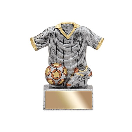 4-1/2 in Resin Jersey Soccer Trophy