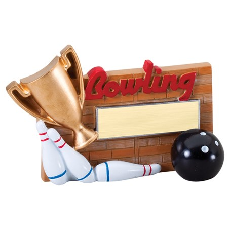 Winners Cup Bowling Resin Trophy