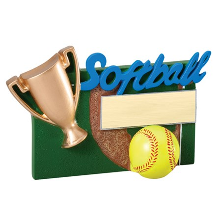 Winners Cup Softball Resin Trophy