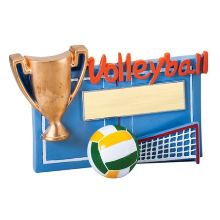 Winners Cup Volleyball Resin Trophy