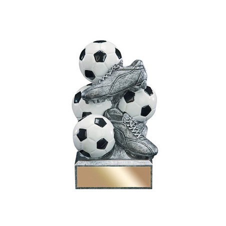 "6"" Soccer Resin Sports Bank"