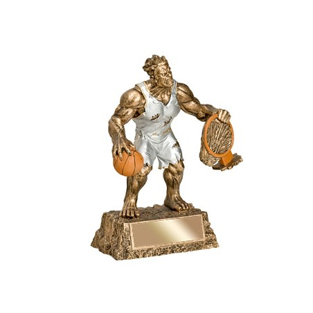 "6-3/4"" Basketball Monster Resin"