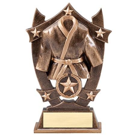 6-1/4 in Stars Karate Resin