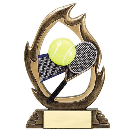 "7-1/4"" Tennis Flame Series Resin"