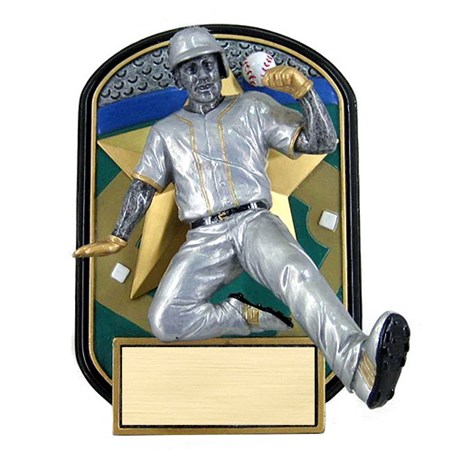 6.5 in Rock n Jox Baseball Resin Trophy
