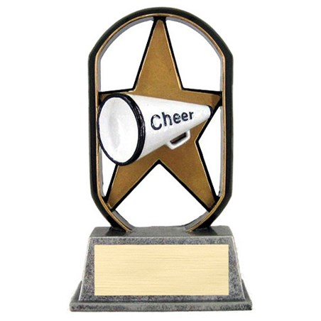 "5"" Ecostarz Cheer Resin"