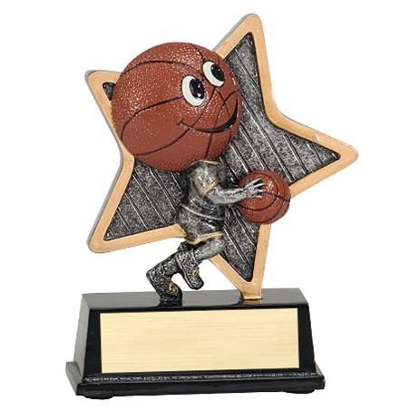 """5"""" LittlePal Basketball Resin"""