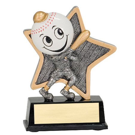 "5"" LittlePal Baseball Resin"